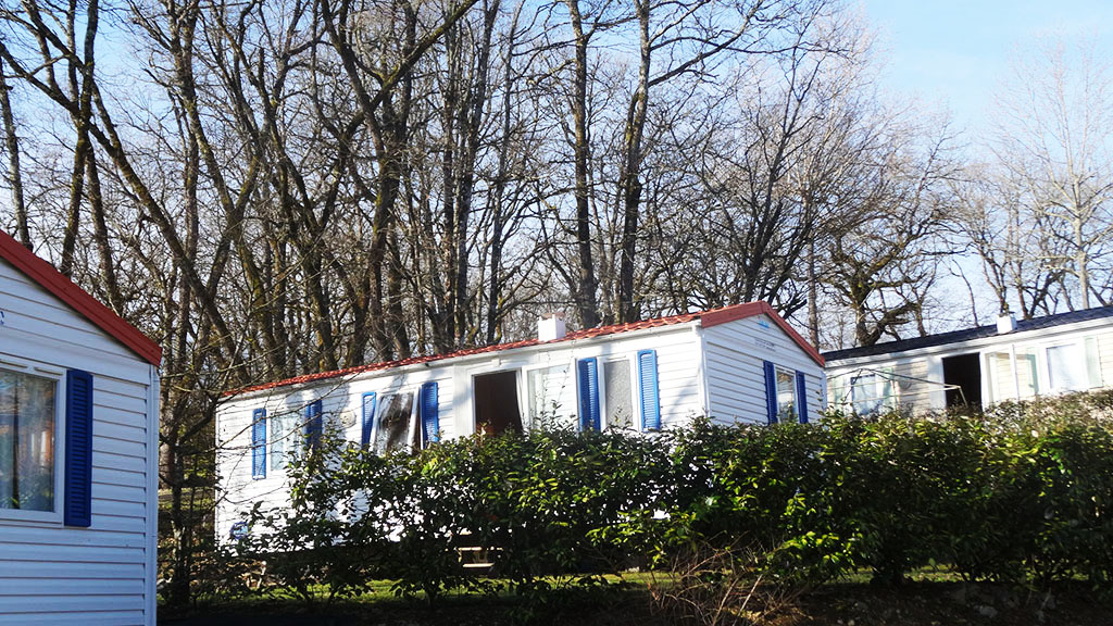 Mobil-home du camping de Payrac